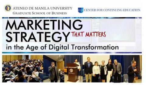 Marketing Strategy that Matters in the Age of Digital Transformation Learning Session